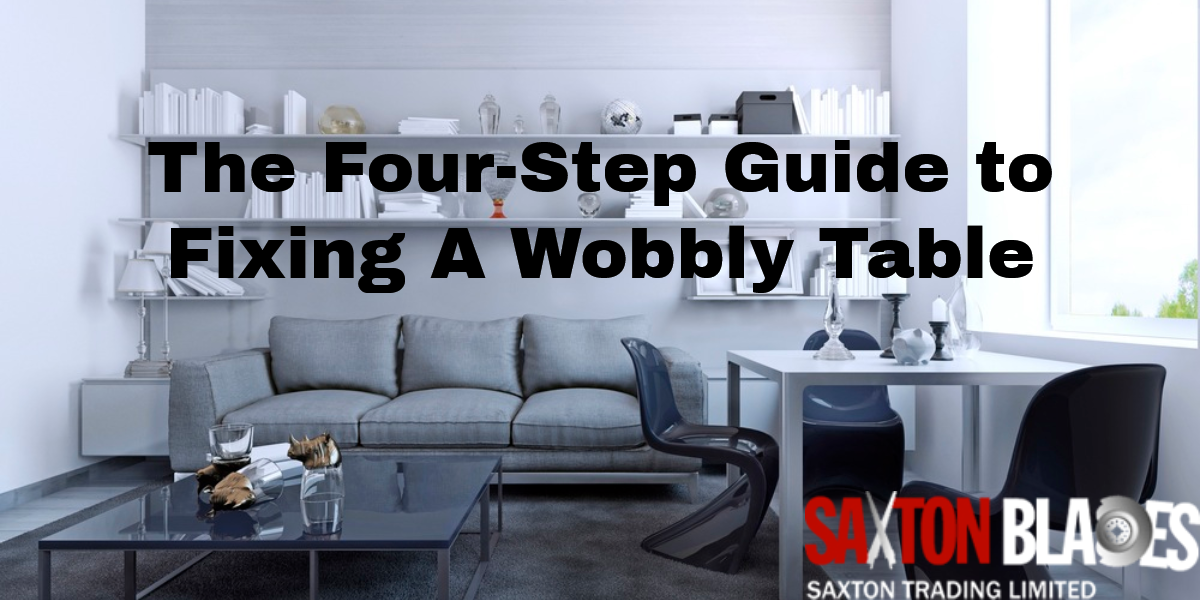 how to fix wobbly table legs
